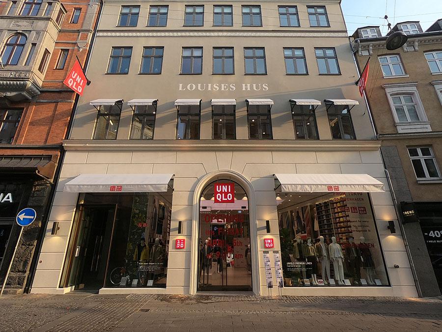 Uniqlo på Strøget i København